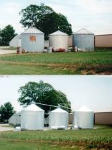 Grain Bin Painting Photos